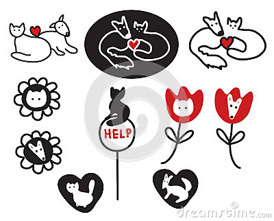 Animal protections and veterinary signs