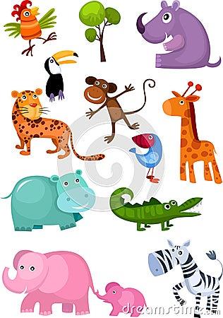 Free Animal Set Stock Image - 18044521