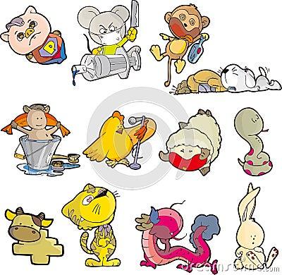 Animal set seven