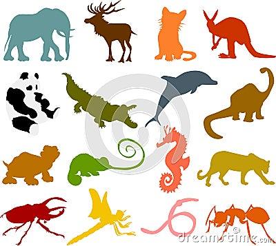 Animal silhouettes 02