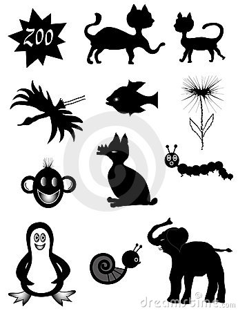 Animal Symbols Stock Images - Image: 12580274