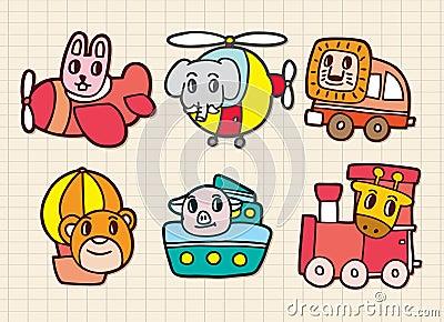 Animal in transport