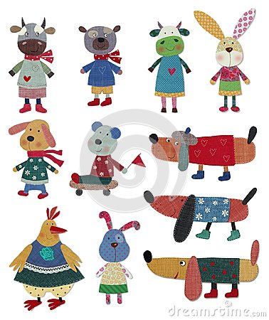 Animali domestici, personaggi dei cartoni animati