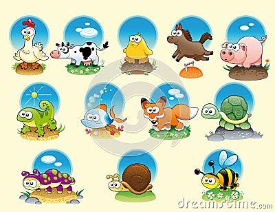 Animali ed animali domestici del fumetto