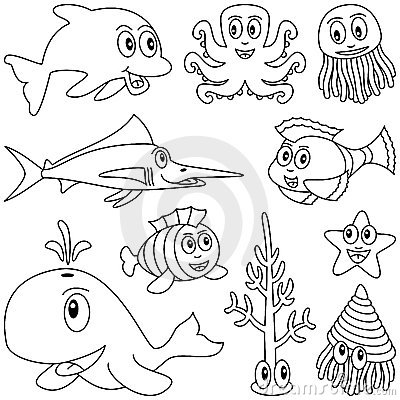 Animali marini di coloritura [1]