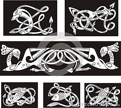 Hexagonal Mandala Originals - Celtic Knot - Cross Stitch Patterns