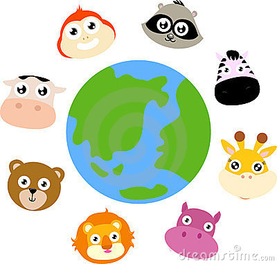 Animals around the globe
