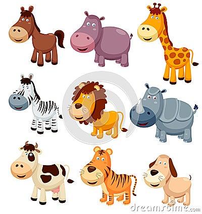 Free Animals Cartoon Royalty Free Stock Photo - 27650115
