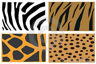 Animals fur pattern
