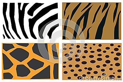 Animals fur pattern