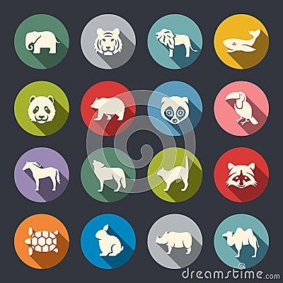 Free Animals Icon Set Stock Image - 46213841