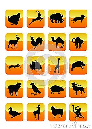 Animals Icons 01