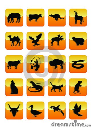Animals Icons 03