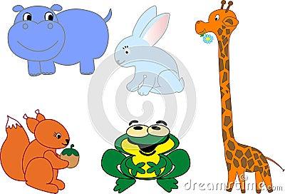 Animals icons - vector set