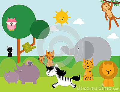 Animals /illustration