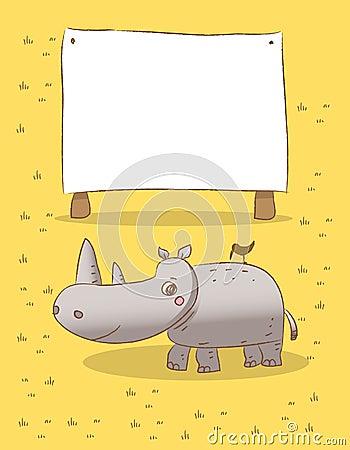 Animals rhino