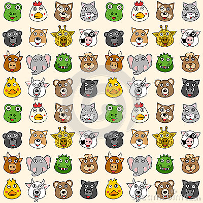 Animals Seamless Pattern [1]