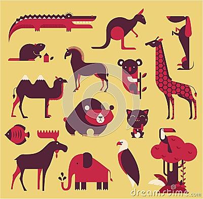 Animals set