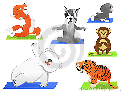 Animals yoga