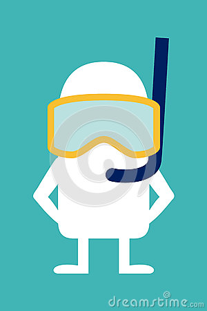 Animated personality diver