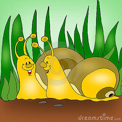 Animated snails