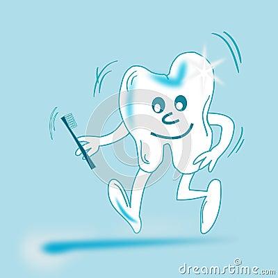 Animated teeth