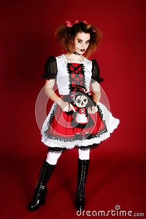 Free Anime Style Portrait Royalty Free Stock Image - 3876206