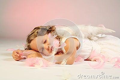 Anioł śpi
