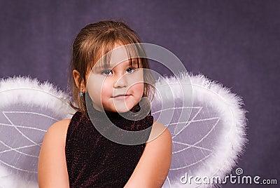 Anioł trochę