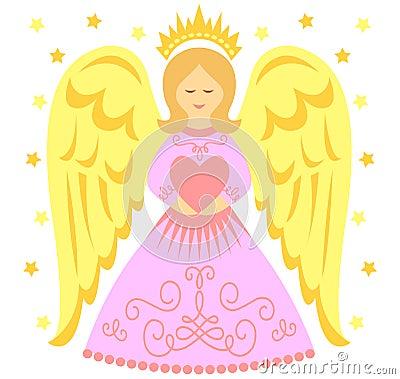 Anioła serce