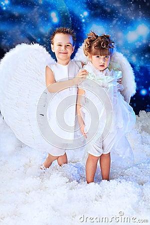 Aniołowie dwa