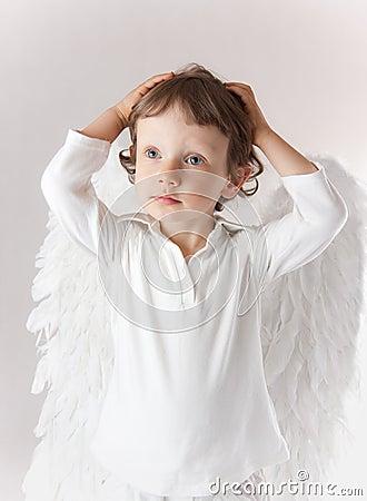Anioł chłopiec