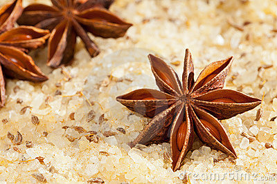 Anise scented salt