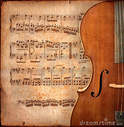 Free Anitique Cello Stock Image - 2486391