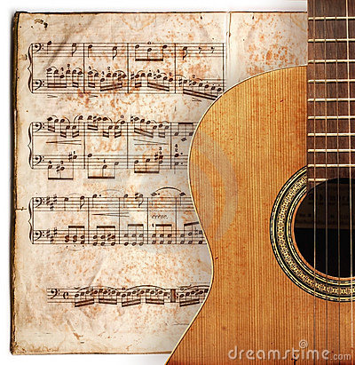 Free Anitique Guitar Royalty Free Stock Images - 2132439