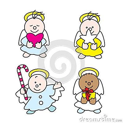 Anjos pequenos bonitos A 2009