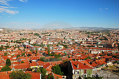 Ankara city skyline