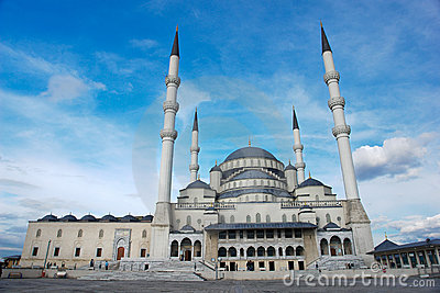 Ankara, Turkey, Kocatepe Mosque