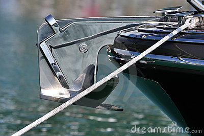 Anker der Yacht