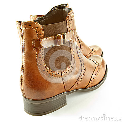 Free Ankle Boots Stock Photography - 45660252