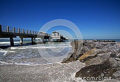 Anlegestelle und Fischenpier