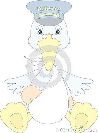 Anlieferungsvogel