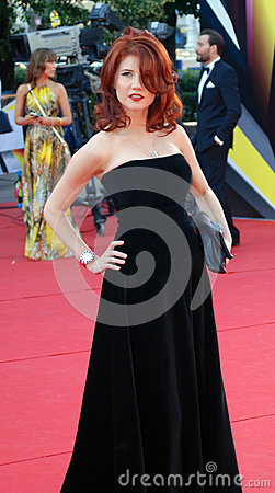 Anna Chapman at Moscow Film Festival Editorial Image