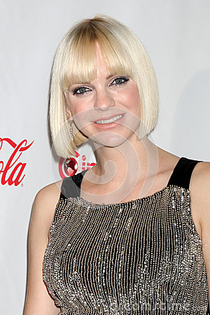 Anna Faris arrives at the CinemaCon 2012 Talent Awards Editorial Stock Photo