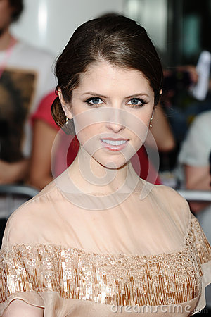 Anna Kendrick Editorial Stock Photo