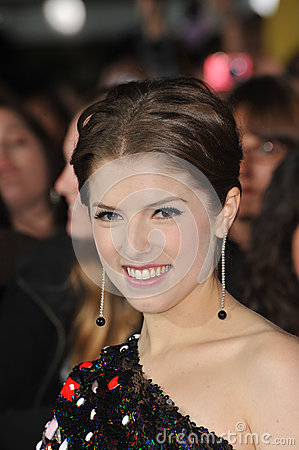 Anna Kendrick Stock Photo - Image: 26912320