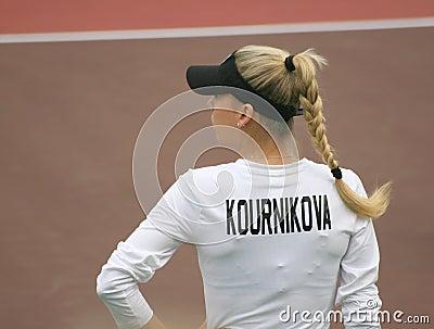 Anna Kournikova, Tennis Celebrity star Editorial Photography
