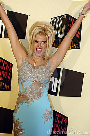 Anna Nicole Smith Editorial Photo