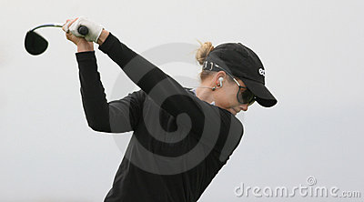 Anna Rawson, golf Ladies European Tour, Editorial Stock Photo