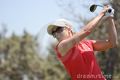 Anna Rawson, Portugal ladies Open 2006, Oitavos Editorial Image